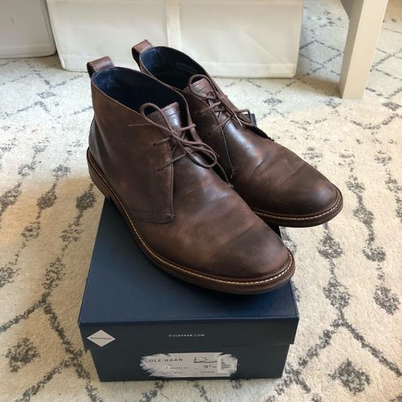 Cole Haan Allenby Waterproof Leather